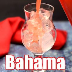 Easy Bahama Mama is the best drink cocktail recipe made with Bacardi, Malibu, or Captain Morgan coconut rum, pineapple and orange juice, and just a handful of ingredients. This beach cocktail is great Bacardi Drinks, Malibu Rum Drinks, Coconut Rum Drinks, Alcoholic Drinks Made With Pineapple Juice, Mixed Drinks With Rum, Easy Rum Drinks, Frozen Rum Drinks, Frozen Mixed Drinks, Cocktails Made With Rum