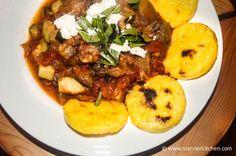 Sunday Slow Cooker: Ratatouille with Polenta Rounds