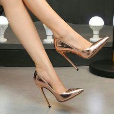 High Heel Pumps, Pumps Heels, Stiletto Heels, Neon Heels, Fancy Shoes, Pretty Shoes, Flat Shoes, Prom Shoes, Wedding Shoes