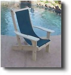 Adirondack Sling Chair Woodworking and Furniture Plans