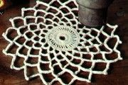How to make Easy Crochet Doily - DIY Craft Project with instructions from Craftbits.com