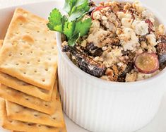 Main Ingredients: CheeseYield: Makes servingsPhoto and Recipe courtesy of Chef Eric LeVine Yummy Appetizers, Appetizer Recipes, Delicious Desserts, Goat Cheese Recipes, Cheesy Recipes, Brunch Recipes, Fall Recipes, Summer Recipes, Party Side Dishes