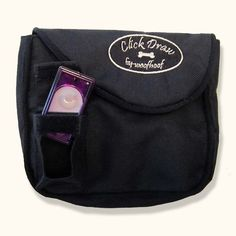 Click Draw Pouch — The design of this pouch gives you control of your clicker and pouch with just one hand