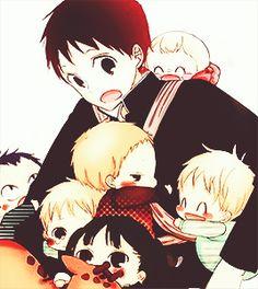 Sanrio Danshi, Gakuen Babysitters, Black Butler Kuroshitsuji, Awesome Anime, Haikyuu, Anime Characters, Chibi, Manga Anime, Families