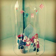 Check www.littledeer.nl voor mooie, vintage woonaccessoires. #Inspiratie #Stolp #Creatief