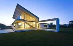 modern villa in Italy