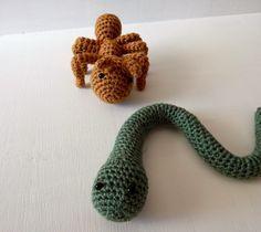A[mi]dorable Crochet: Snake Pattern
