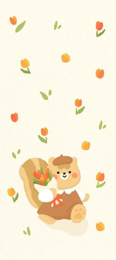 Cute Wallpaper For Phone, Bear Wallpaper, Cute Wallpaper Backgrounds, Animal Wallpaper, Colorful Wallpaper, Wallpaper Quotes, Iphone Wallpaper, Best Quotes Wallpapers, Cute Wallpapers