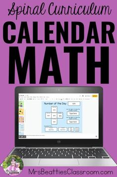 Are you a primary teacher looking for ideas for your calendar math routine? If you have a SMART Board, this post is for you! Practice critical math skills like patterning, place value, money, ordinal numbers, addition Classroom Morning Routine, Morning Routines, Ordinal Numbers, Math Numbers, Math Stations, Math Centers, Math Skills, Math Lessons, Math Activities