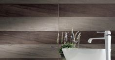 Napoli Limestone 2.0 Brown and Grey; 8x48 planks; STOCKED IN 12x24; also available: 12x24, 24x24, 6x36, 18x36, 8x48, 24x48 http://www.ceramictechnics.com/tile_sample/napoli-limestone-2-0/
