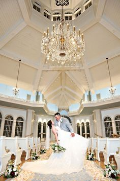 Allison always knew she wanted a Disney wedding, and she always knew she wanted the ceremony to be at the Wedding Pavilion!