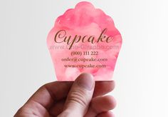 What do you say about a cupcake shape business card??…