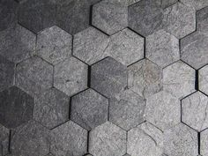 Slate-ish, is a beautiful sustainable surface material made from reclaimed paper-laminate scrap.