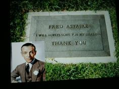 Fred Astaire Cemetery Headstones, Old Cemeteries, Graveyards, Cemetery Angels, Cemetery Art, Tombstone Epitaphs, Peace In The Valley, Famous Tombstones, Celebrity Deaths