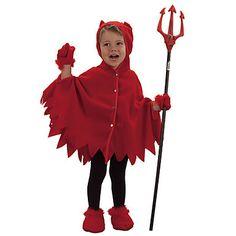 Red Little Devil Kids Costume