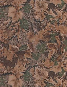 Camouflage Leaves - from Lake Forest Lodge book by Three Sisters Studio - York Wallcovering. Realtree Camo Wallpaper, Camoflauge Wallpaper, Wallpaper Decor, Wallpaper Borders, Rustic Wallpaper, Wallpaper Ideas, Real Tree Camouflage, Camouflage Patterns, Visual Texture