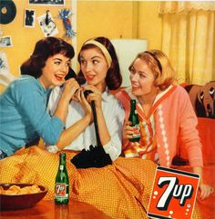 The good ol' days when teenagers were twenty year olds - vintage ad, 1959 - teenagers on the telephone Old Advertisements, Retro Advertising, Retro Ads, Vintage Ads, Vintage Posters, Vintage Photos, Retro Diner, Vintage Stuff, Vintage Signs