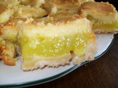 Lemon Buzz Bars - OK