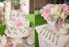 Google Image Result for http://www.thesweetestoccasion.com/wp-content/uploads/2010/07/pink-butterfly-wedding-cake-vintage-silverware.jpg