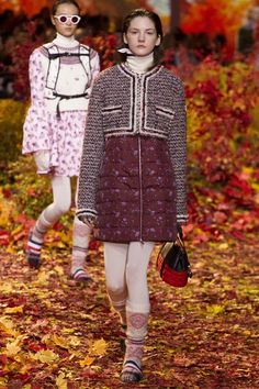 View the complete Fall 2017 collection from Moncler Gamme Rouge.