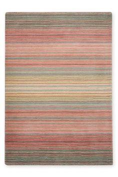 Ombre Stripe Pink Stripes Wool Uk Online Rug