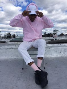 Uzi Hoodie in Pink - Maybe Today NYC - 2