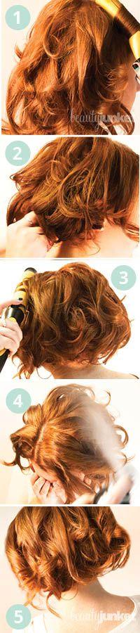 At Home Holi-hair :The Faux-Bob