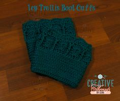 Great free pattern that works up quick. The Icy Trellis Boot cuffs have plenty of texture and are sure to be a favorite. Beautiful in solid or variegated.