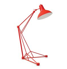 Think big with Diana floor lamp XL: this contemporary fresh classic lamp turns any room into a giant colorful inviting space. Ideal for big lofts and artist studios, this creative floor lamp composed by a colorful lampshade in aluminum will give inspiration to any setting. Conceived in brass with the switch on the top, this huge Diana version is 2.3m tall. Can it be more unique than this?