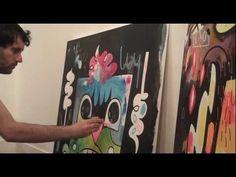 Jon Burgerman. Commercial Artist and Illustrator