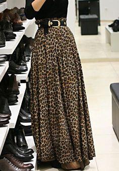 Louche fudge maxi dress