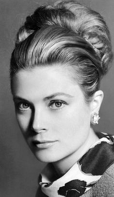 Grace Kelly - classic style, charm - we share the name - I can only hope to have her poise and class!