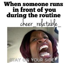 HAHA sooo true... cheer probs #thingsweloveatspiritaccessories #humor #cheer