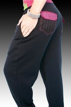 NappyTabs The sweatpants that every dancer should have.