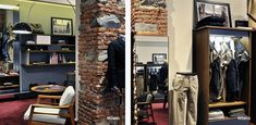 Slowear Shops | Carlo Donati Studio Entryway, Studio, Shops, Shopping, Furniture, Home Decor, Entrance, Tents, Decoration Home
