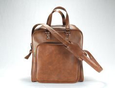 Vintage BagLuggageSuitcaseCarry On by thevintagetreehouse on Etsy, $37.50