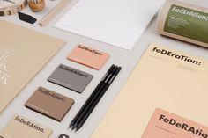 Unique Branding Design, Federation via @alicefattore #Branding #Identity #Design