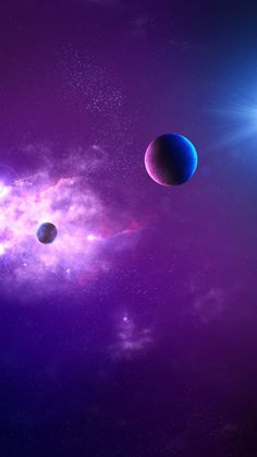 Purple Love, Purple Lilac, All Things Purple, Purple Rain, Shades Of Purple, Blue, Planets Wallpaper, Wallpaper Space, Galaxy Wallpaper
