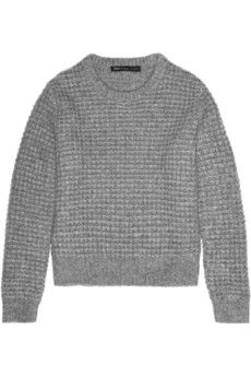 Marc by Marc Jacobs Walley waffle-knit wool-blend sweater | NET-A-PORTER