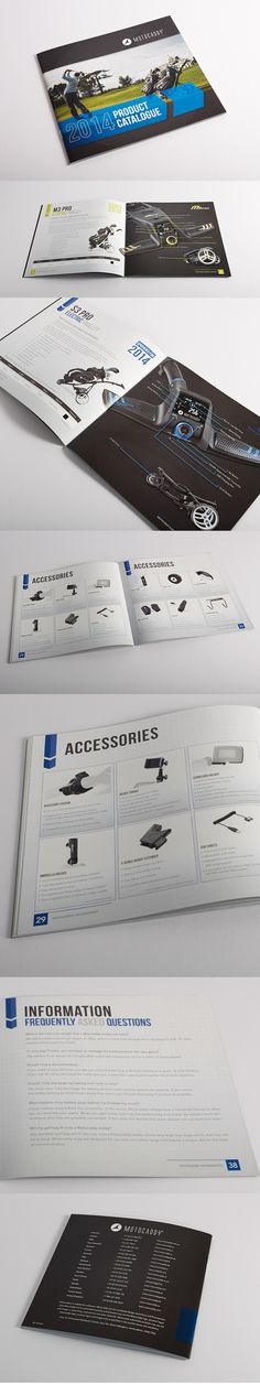 2014 Motocaddy Product Catalogue - Electric Golf Trolleys, Bags and Accessories. Brochure Layout, Brochure Design, Flyer Design, Catalogue Layout, Product Catalogue, Book Design, Layout Design, Print Design, Pamphlet Design