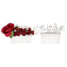 Buy Make Your Own Rose and Pearl Hair Slides Online at johnlewis.com