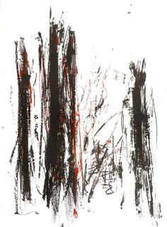 Arbres (Black and Red), 1991