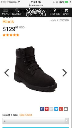 I think I want these I'm not exactly sure yet . Size 4 http://www.journeys.com/product/275910