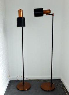 'Lento' floor lamp Jo Hammerborg Fog & Morup copper €750