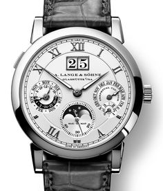 A. Lange & Söhne Langematik Perpetual watch, pictures, revi…