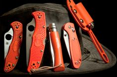 Orange Spydercos