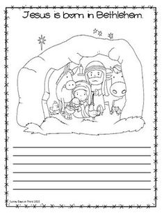 NATIVITY STORY / JESUS FREEBIE