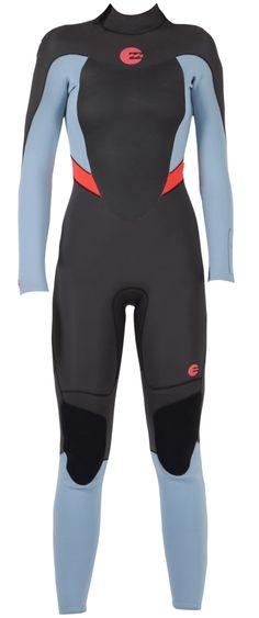 3/2mm Women's Billabong SYNERGY Full Wetsuit