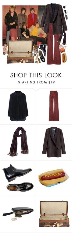 """Heading for the '67 European Tour"" by mickjaggerismydrug ❤ liked on Polyvore featuring Isa Arfen, Overland Sheepskin Co., Jakke, ELSE and vintage"