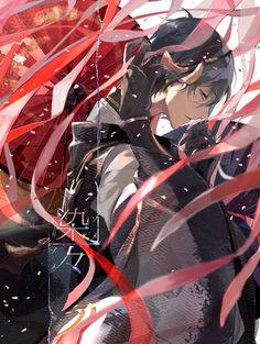 Mikazuki Anime Love, Cute Anime Boy, Hot Anime Guys, Awesome Anime, Manhwa, Anime Garçons, All Anime, Touken Ranbu Characters, Anime Characters